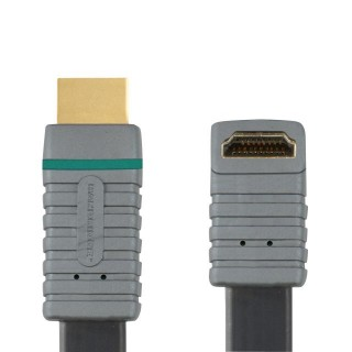 Professionele platte haakse HDMI kabel 5 meter High-Speed 270°