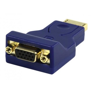 Displayport male naar VGA female adapter